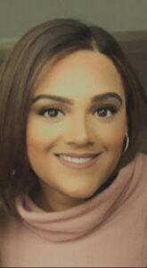 close up photo of Sonia Bigra