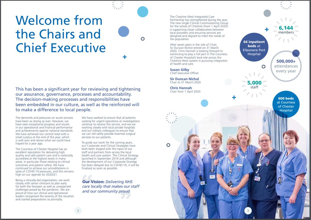 Case study - Editorial - Annual Report